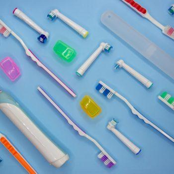 varieties of toothbrushes
